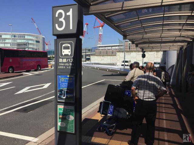 成田空港31番バス乗り場