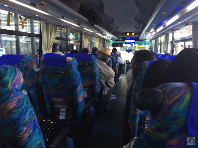 THEアクセス成田の車内