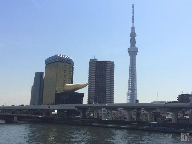 両国・浅草散策:初めて見るスカイツリーは高く、久々の東京は暑かった