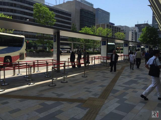 THEアクセス成田東京駅八重洲南口乗り場
