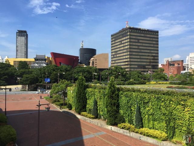 北九州市役所周辺の風景