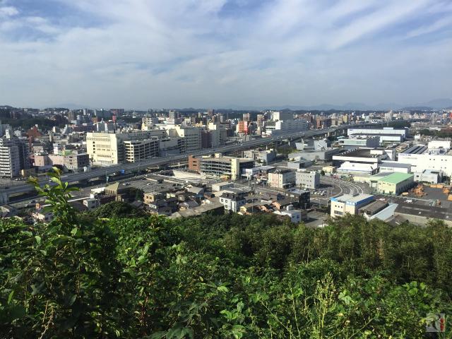 黒崎城址展望台からの景色