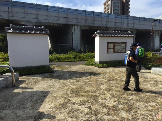 長崎街道黒崎宿跡