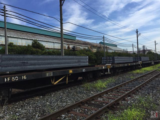 新日鉄住金の線路
