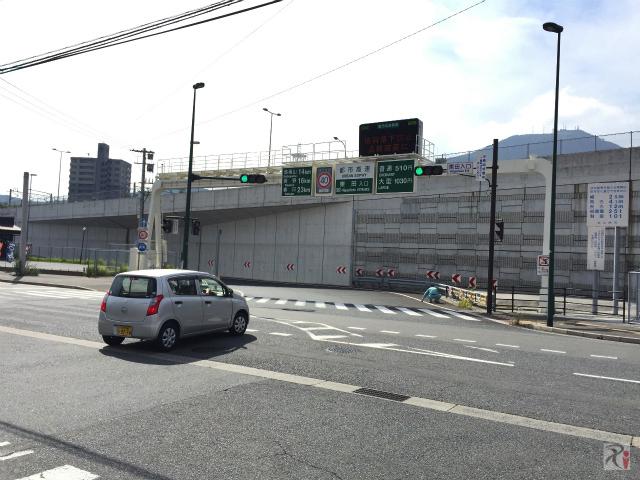 北九州都市高速・東田IC