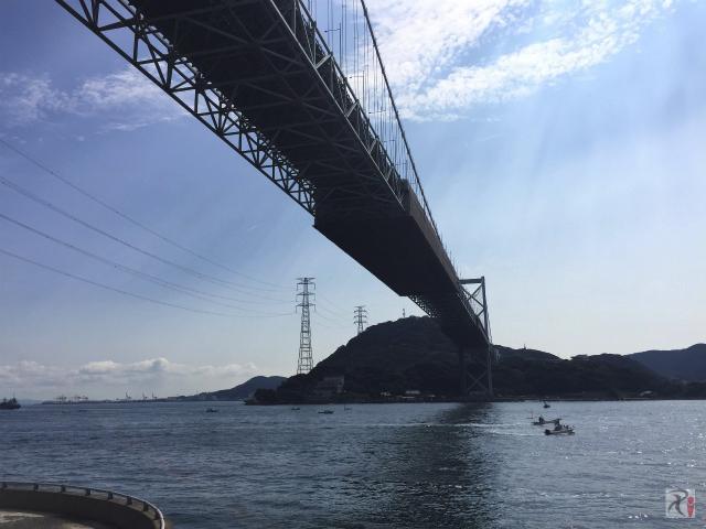 関門橋・下関側