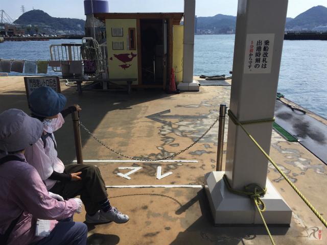 関門連絡船下関港