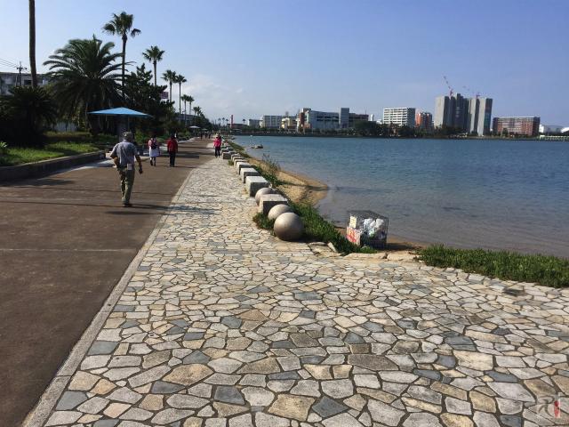 香椎海岸遊歩道
