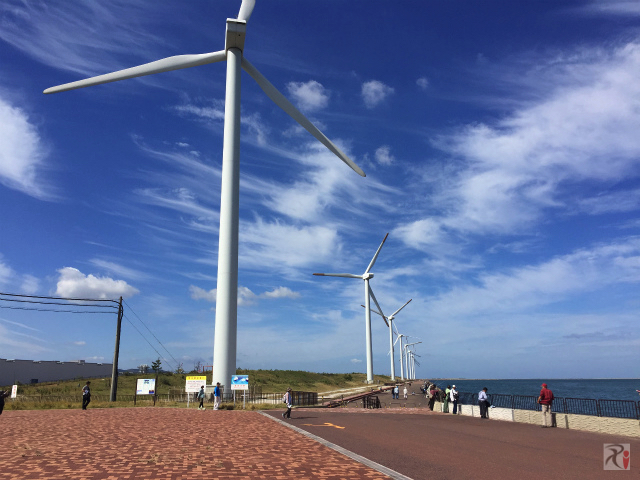響灘風力発電所