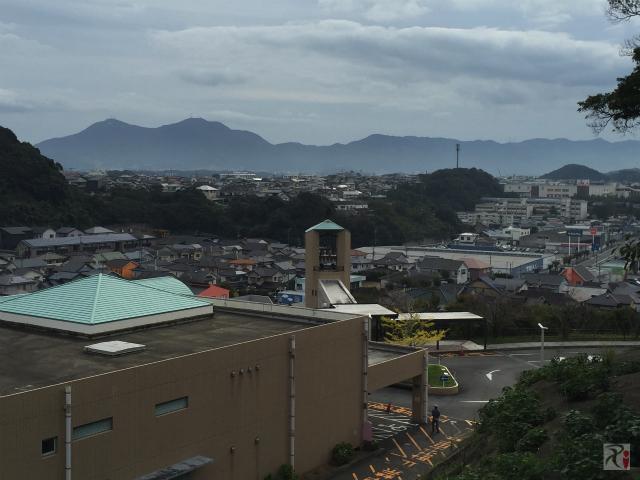 水巻町の風景