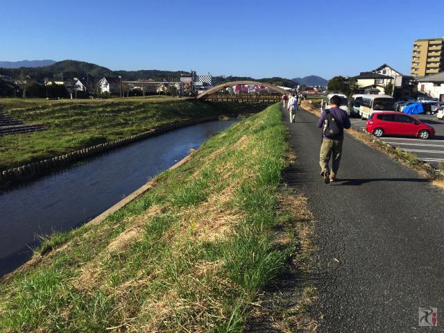 釣川と神輿橋