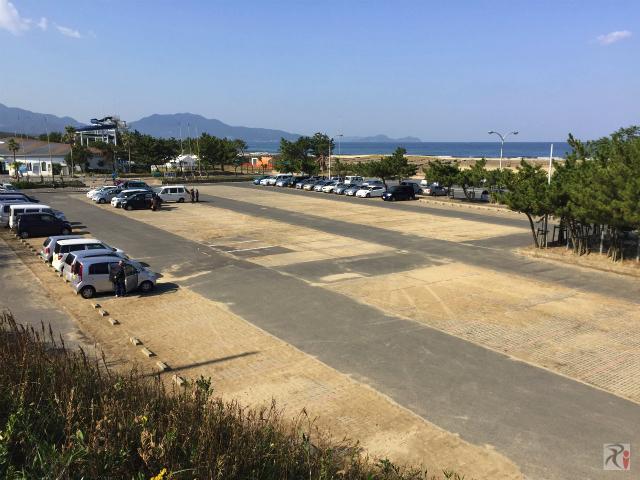 芦屋海浜公園駐車場