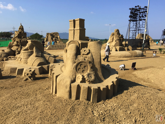 あしや砂像展2015