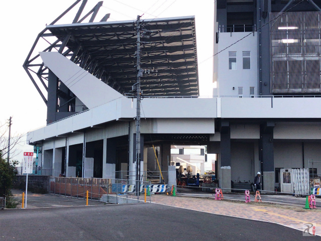 北九州スタジアム北側