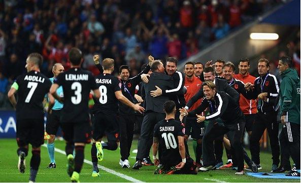 【EURO2016】グループA最終節、アルバニアが歓喜の初勝利(6/19)