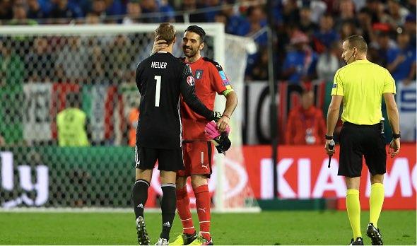 【EURO2016】ドイツvsイタリア、守護神の意地をかけた壮絶PK戦(7/2)