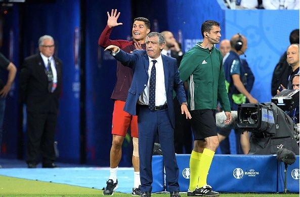 【EURO2016】決勝戦、クリスティアーノ・ロナウドの流した涙は歓喜か無念か(7/10)