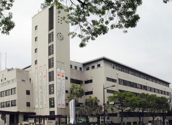 長崎県庁を通過しました【ヴァーチャル九州一周】