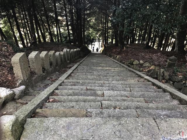 ウォーキング7年目、2017年初戦は階段と山道の過酷さにも負けず自然のパワーを吸収【Walk香春】