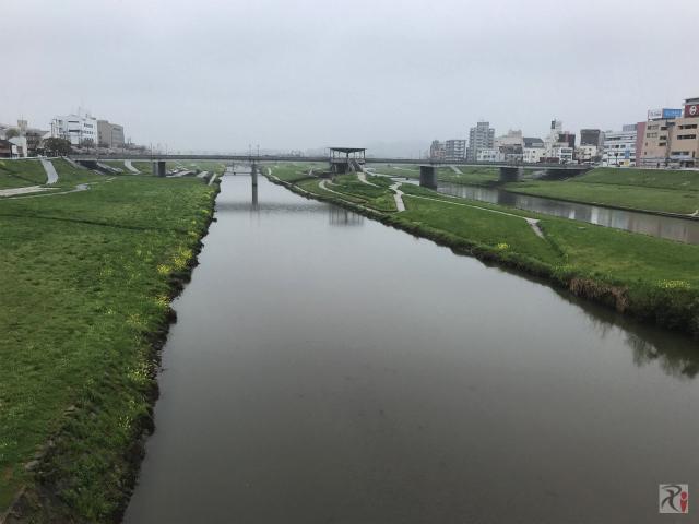 新飯塚橋から