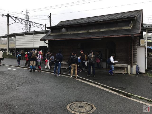JR浦田駅の駅舎