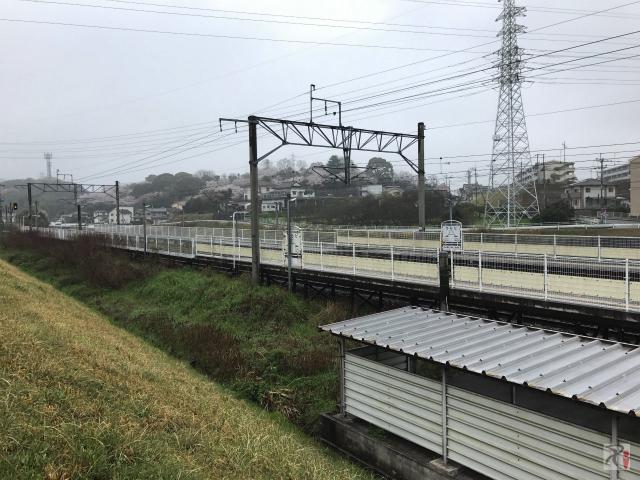 JR浦田駅ホーム