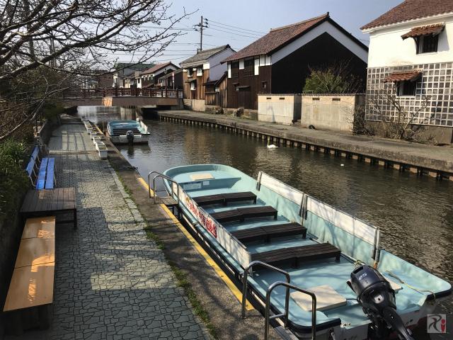 加茂川の遊覧船