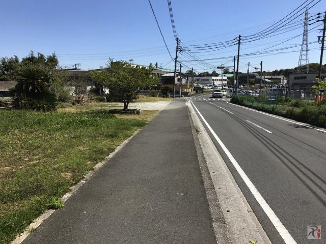 川崎町役場近く