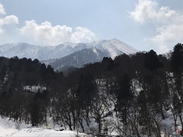 大山スキー場付近