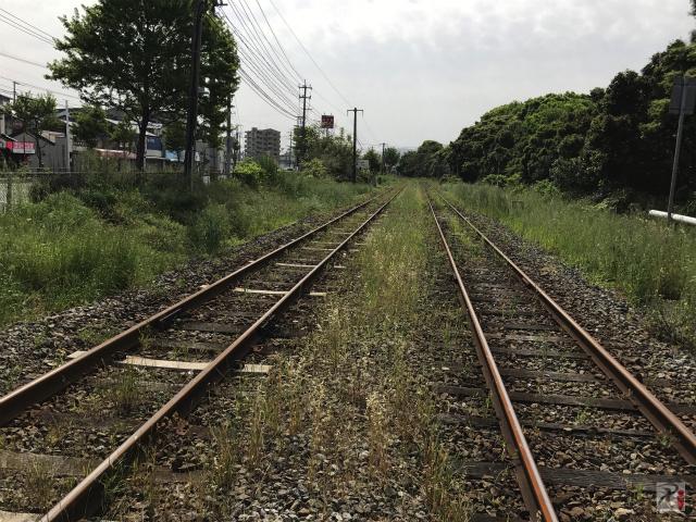 JR筑豊本線の線路