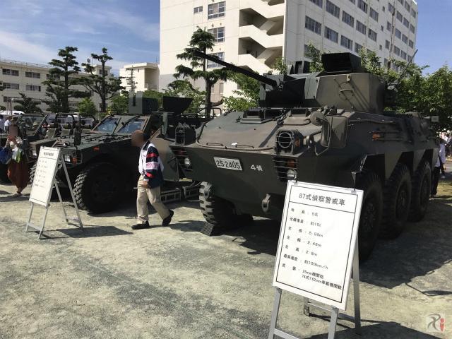 陸上自衛隊の車両
