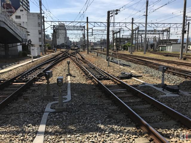 JR鹿児島本線の踏切