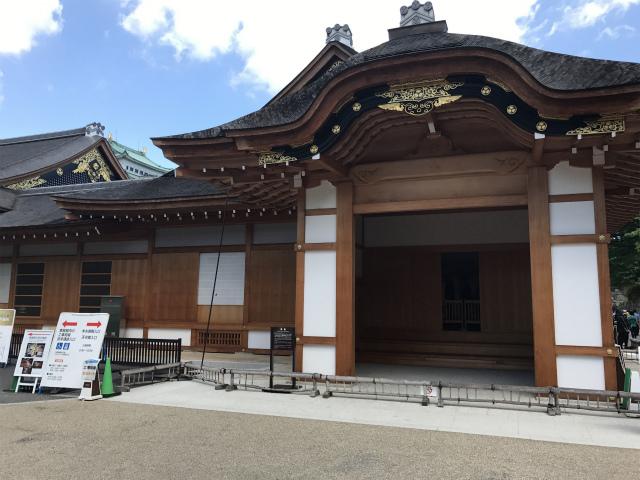本丸御殿、観光客用入口