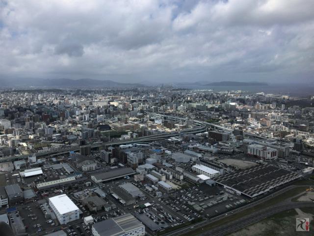 【名古屋旅】改装中の福岡空港から雨の中部国際空港セントレアへのフライト