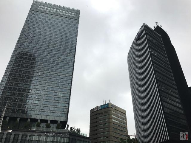 大名古屋ビルヂングと名古屋ビルディング