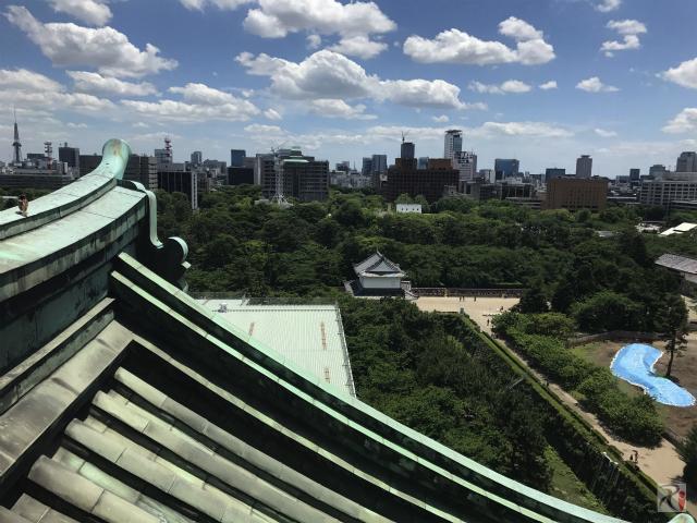 大天守閣7階からの風景