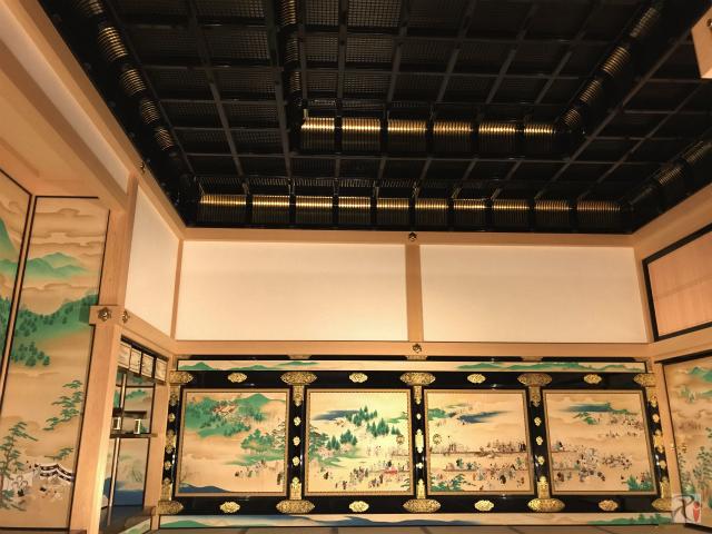 本丸御殿対面所・上段之間の天井
