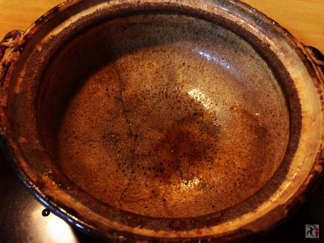 味噌煮込みうどんの鍋