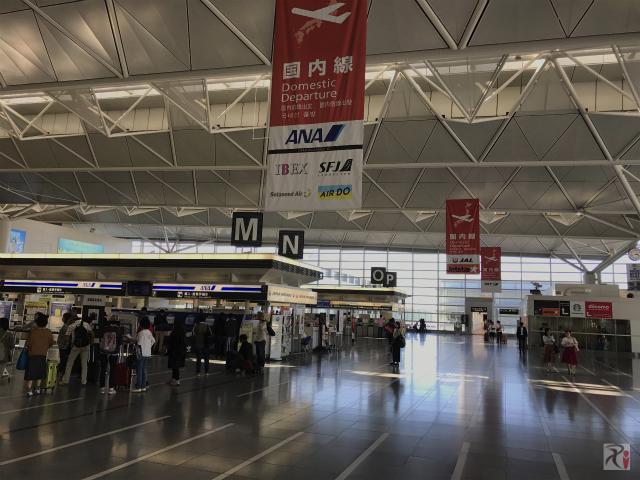 中部国際空港セントレア国内線チェックインカウンター