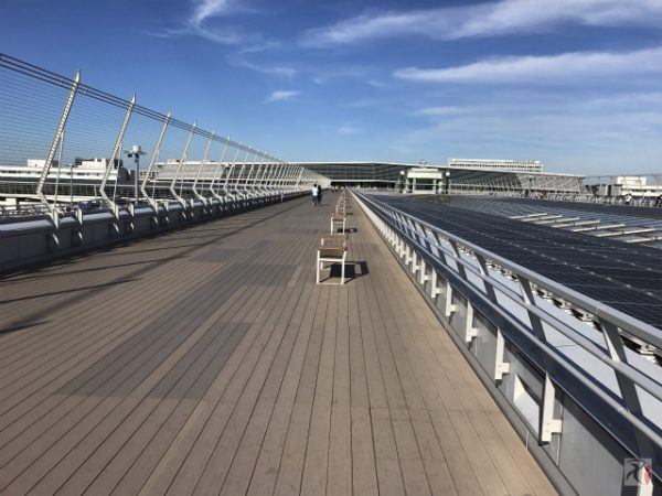 【名古屋旅】名古屋国際空港セントレア、4階スカイデッキでの時間潰しが楽しく心地良い