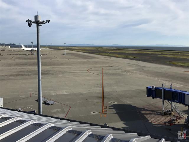 中部国際空港の滑走路