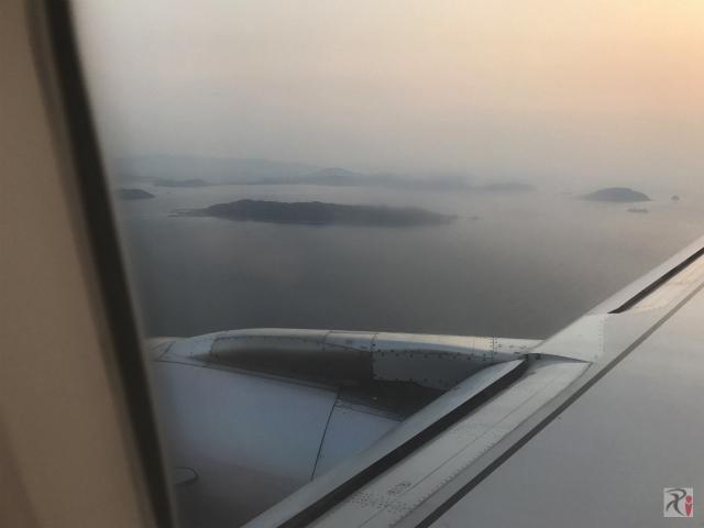 上空から見た志賀島