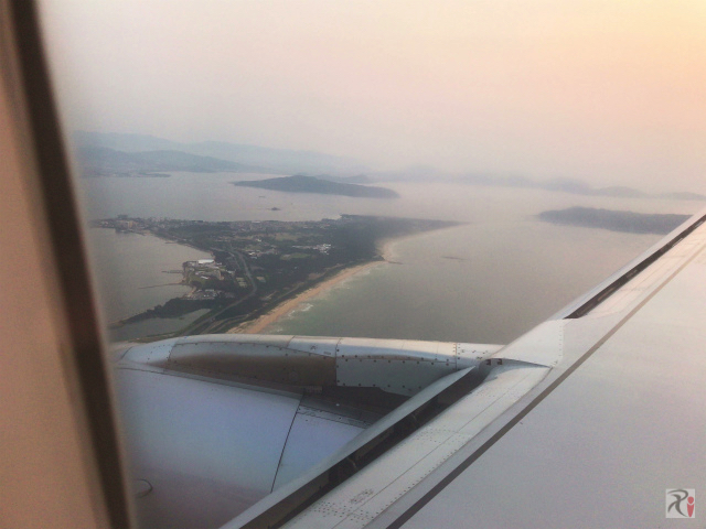 上空から見た海の中道