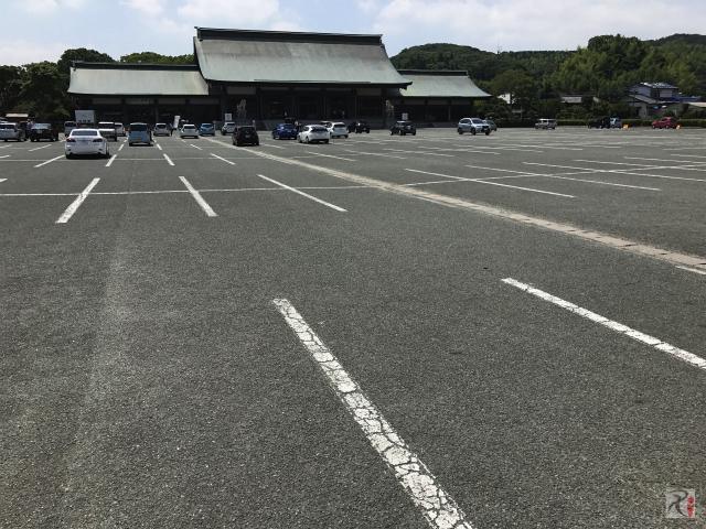 宗像大社駐車場