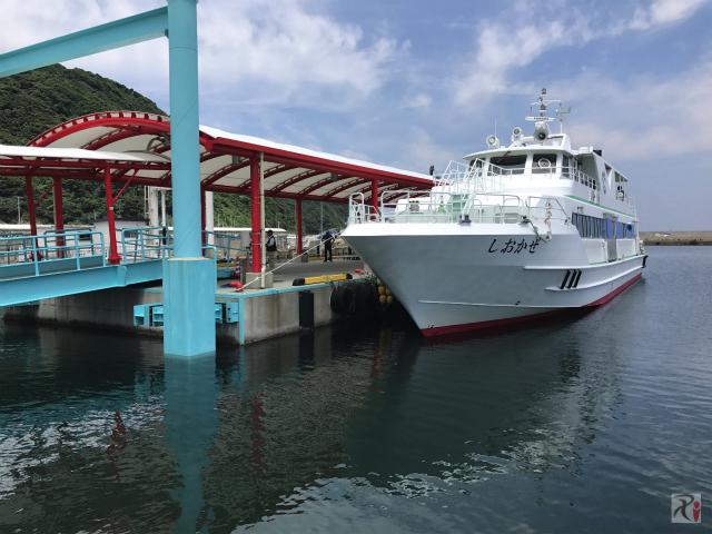 神湊〜大島の渡船