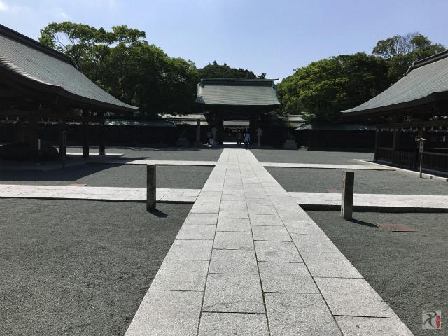 宗像大社 神門