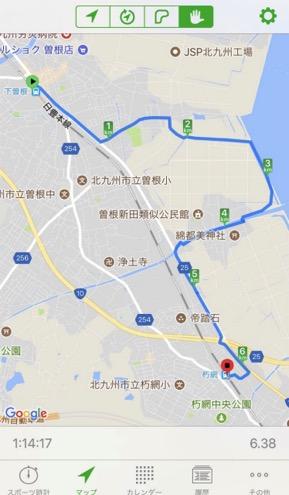 Walk下曽根コースマップ