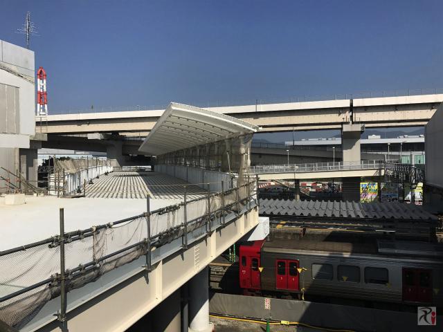 JR黒崎駅の連絡路