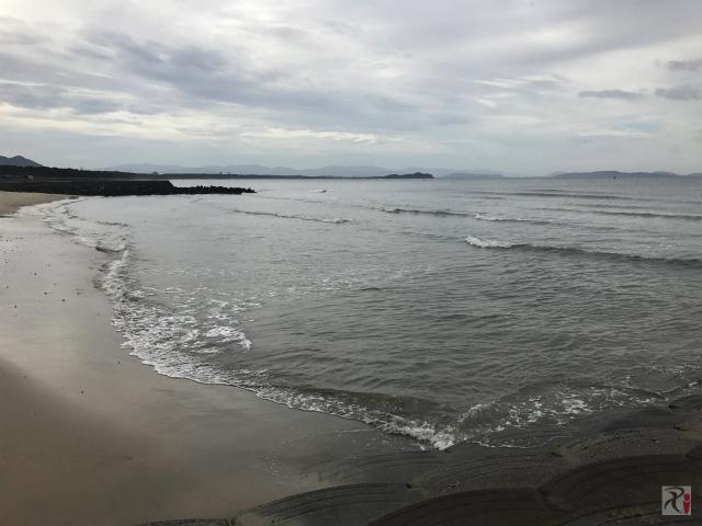 福間漁港海浜公園南護岸
