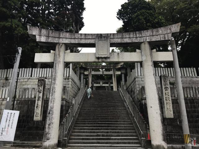 宮地嶽神社の階段
